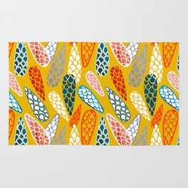 Colored Cone pattern Rug