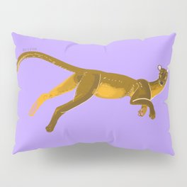 Fossa with color lines #2 Pillow Sham