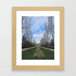 Springtime in Spain Framed Art Print