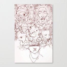 Drew Canvas Print