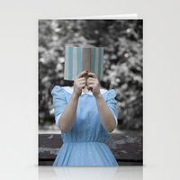 reading Stationery Cards featuring Reading by Maria Heyens