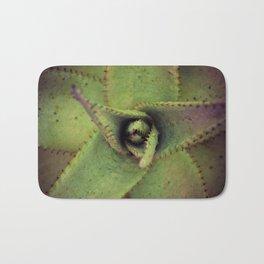 Succulent cactus close-up - Aloe Photography #Society6 Bath Mat