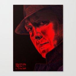 Raymond 'Red' Reddington - Poster Canvas Print