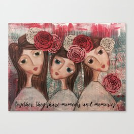 Coco's Closet Together Canvas Print