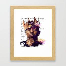 KingKendrick Framed Art Print