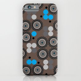 French Blue Influence iPhone Case