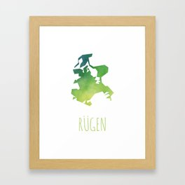 Rügen Framed Art Print