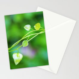 Macro Ivy with Little Green Leaves Stationery Cards