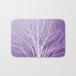 Creative Tree Purple Bath Mat