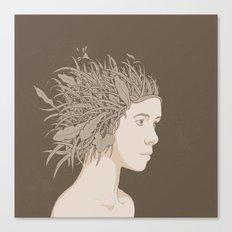 NATURE PORTRAITS 01 SIMPLIFIED Canvas Print