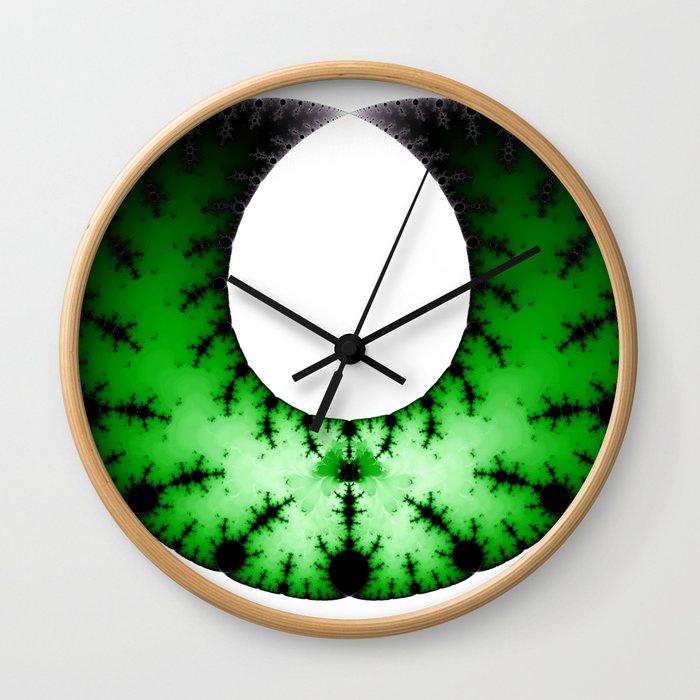 Fractal Art - Necklace Wall Clock