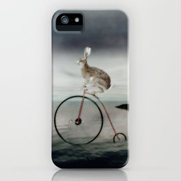 travelling dandy iPhone Case
