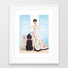Sabrina - Audrey Hepburn Framed Art Print