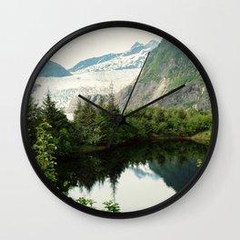 Mendenhall Glacier Wall Clock