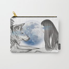 Twin Souls Carry-All Pouch
