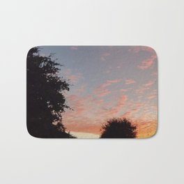 Texas Hill Country Sky - Sunrise 3 Bath Mat