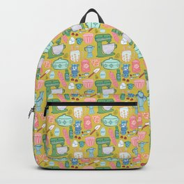 Retro Kitchen in Mustard Backpack