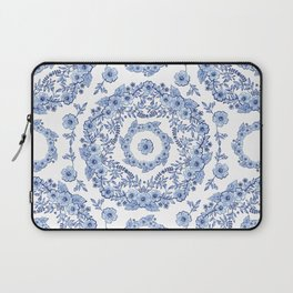 Blue Rhapsody on white Laptop Sleeve