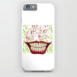 """Put On A Happy Face"" Halloween Shirt For October 31st T-shirt Design Spooky Creepy Halloween Scary iPhone Case"