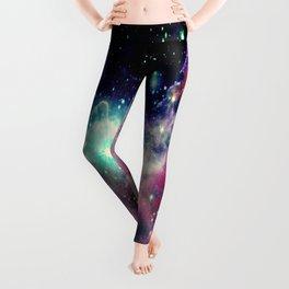 Eagle Nebula / Horsehead Nebula Deep Pastels Leggings