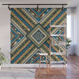 A Difficult Pattern Wall Mural