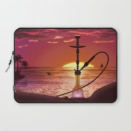 Hookah Sunset Laptop Sleeve
