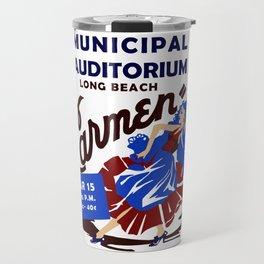Carmen Long Beach Travel Mug