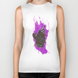 This Heart Beats With Chaos Biker Tank