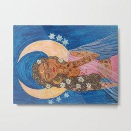 Luna Goddess Metal Print