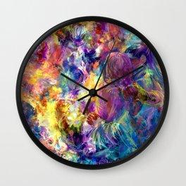 ZKM'17 - Fireplace Wall Clock