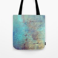 cracked Tote Bags featuring Cracked by Jessielee