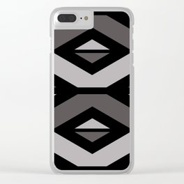 Elegant Decorative Pattern Clear iPhone Case