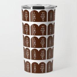 Ten Commandments Travel Mug
