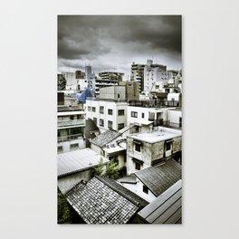 Tokyo Rooftops Canvas Print