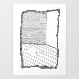 rooms are creepy Art Print