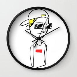 charlie b Wall Clock