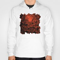polygon Hoodies featuring Polygon 10 by Jambot