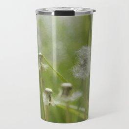Three-Quarters of a Wish Left painterly Travel Mug