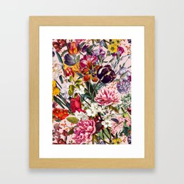 Exotic Garden - Summer Framed Art Print