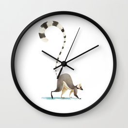 Lemur Wall Clock