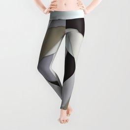 Rotating Geometric Layers Leggings