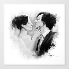Sherlock & Irene Canvas Print