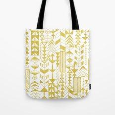 Golden Doodle arrows Tote Bag