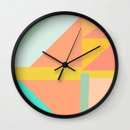 Geo 2.0 Wall Clock