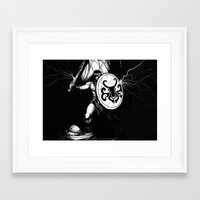 conan Framed Art Prints featuring Conan by shugmonkey