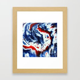 Patriotic 12.2 Framed Art Print