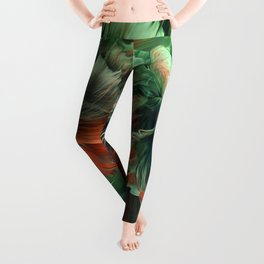 """Betta splendens Deep water (Siam fighter)"" Leggings"