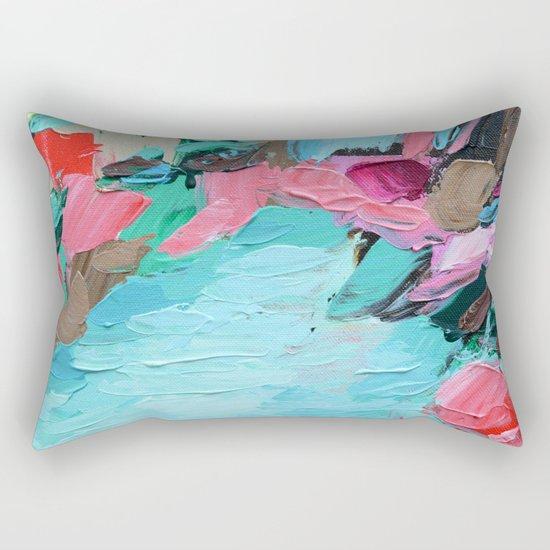 Tahitian Falls Rectangular Pillow