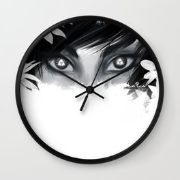 Triforce Stare Wall Clock