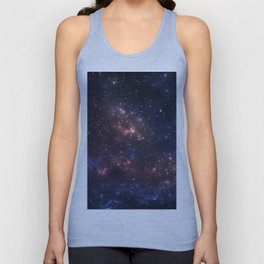 Stars and Nebula Unisex Tank Top